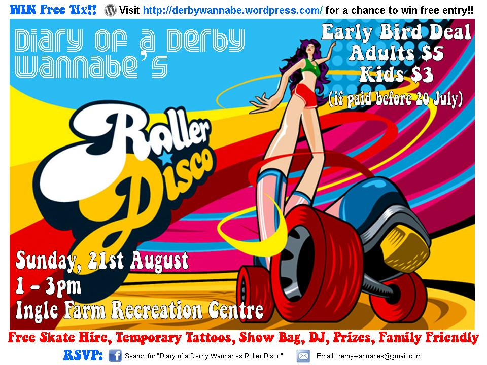 Roller Disco Time Diary of a Derby Wannabe
