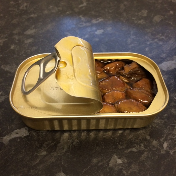 Tinned oysters