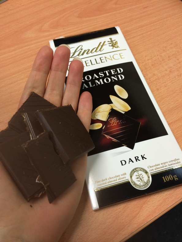 50 grams of dark chocolate