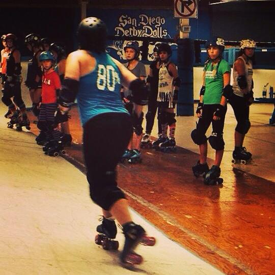 Lemon Drop stopped skating in 2012 for health reasons but stayed on with the San Diego Derby Dolls as a coach