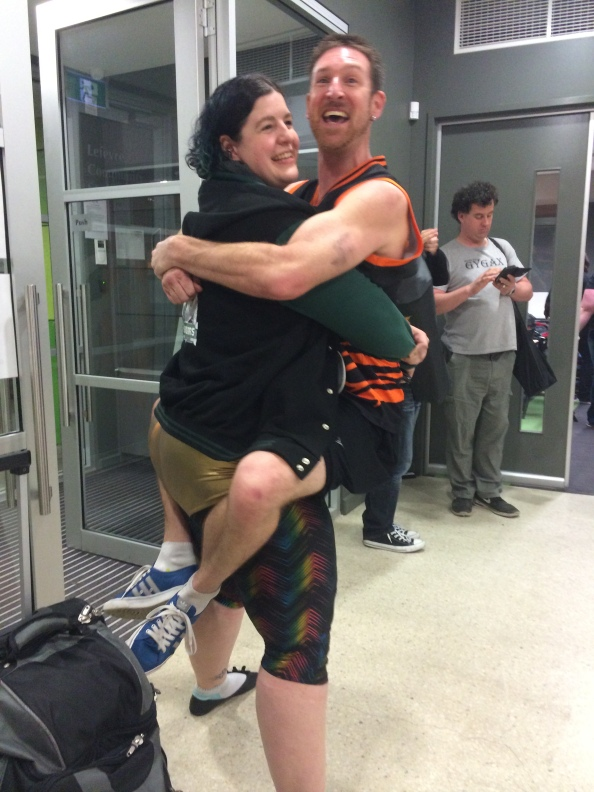 Jessica Rabid squatting Union Smack3